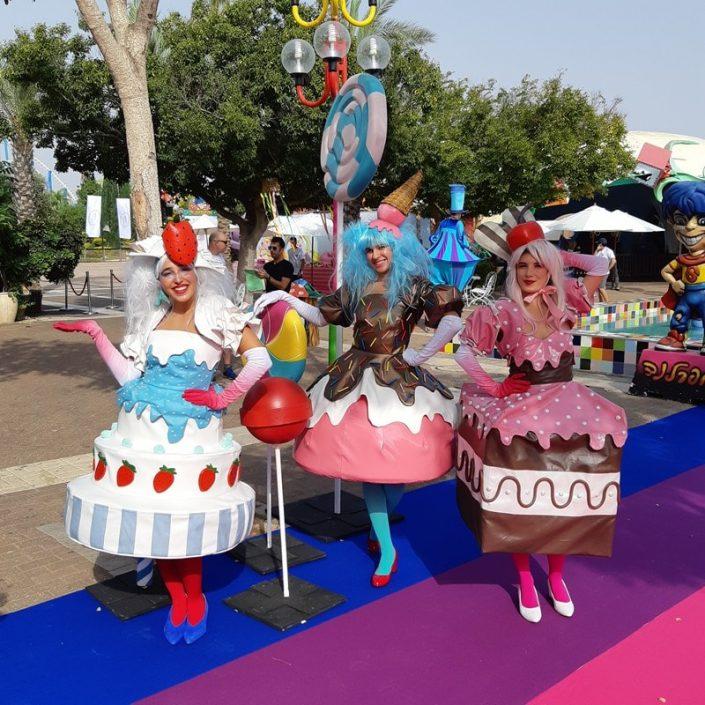 דמויות שטח - עוגות טעימות