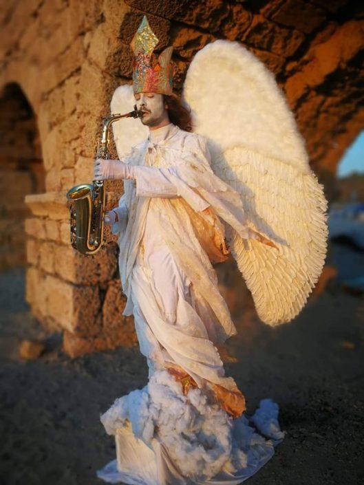 זאזא פסלים חיים לאירועים