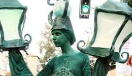 פסלים חיים