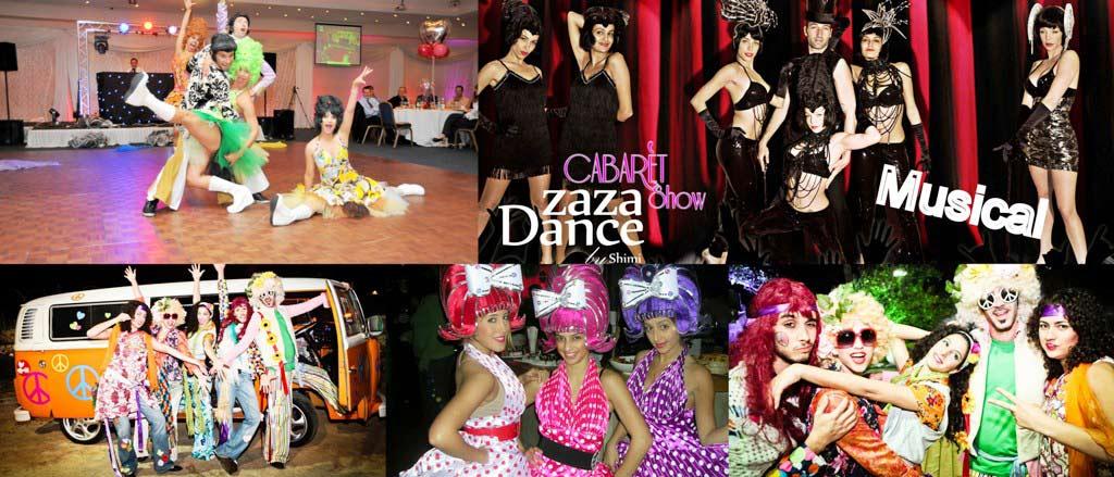 ארוע קונספט מיוזיקל - Zaza Dance Cabaret Show