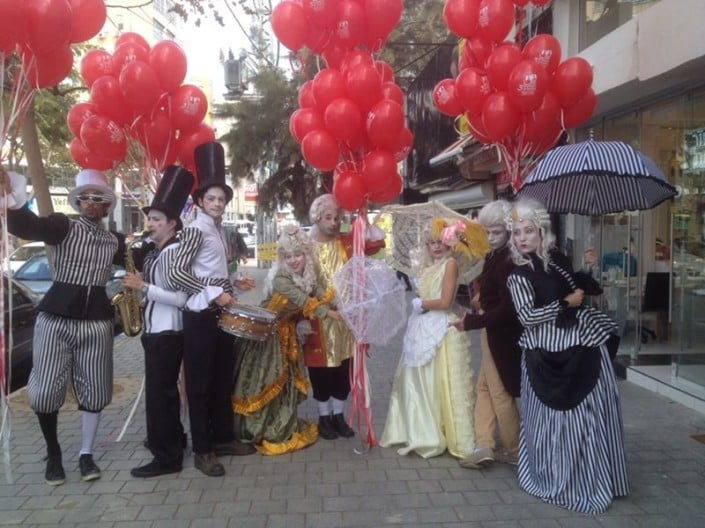 פעילות אמני זאזא עבור עיריית נתניה