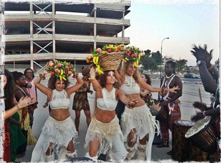 הרכב רקדניות בסגנון צועני - זאזא קריאיטיב