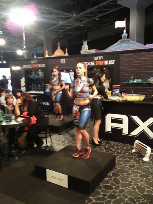 אירוע השקה AXE - קריאטיב אומנותי - ZAZA