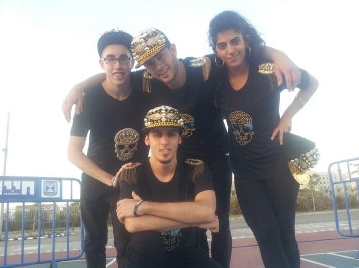 רקדני היפ הופ בפסטיבל נוער ביהוד