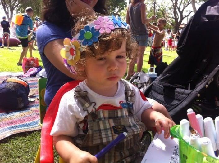 פסטיבל שבועות בצור משה - הפעלות לילדים