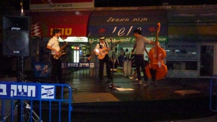 הופעה של הרכב ג'אז ההמנגן מוסיקה חיה