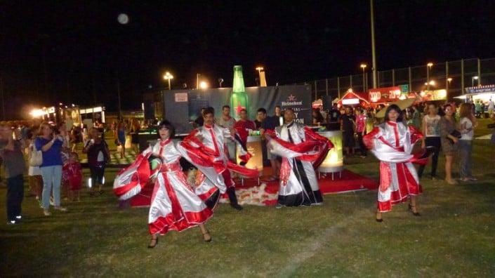 רקדני זאזא בפסטיבל עיר הבירה בחיפה