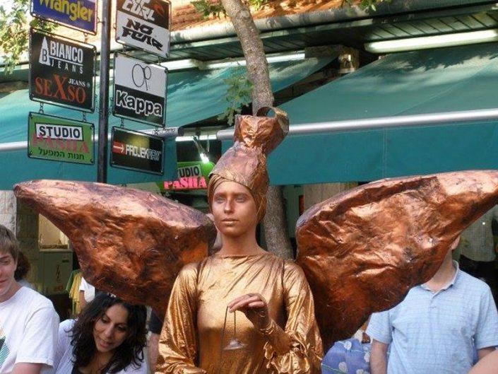 פסלים חיים - אירועי חוצות זאזא