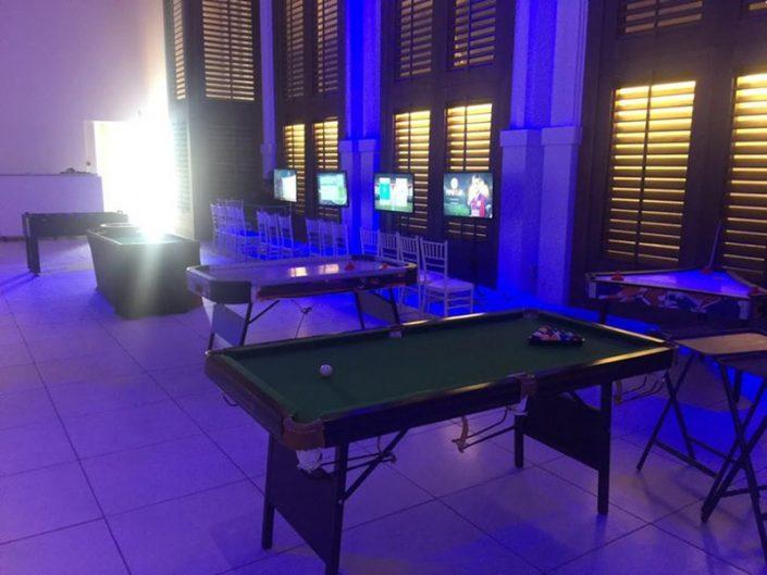 שולחנות משחק להשכרה לאירועים - שולחן סנוקר ביליארד פול