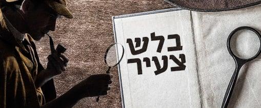 סדנת בלשים צעירים סדנאות והפעלות לאירועים- זאזא