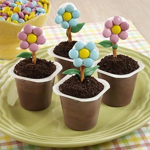 הכנת פרח ממתקים